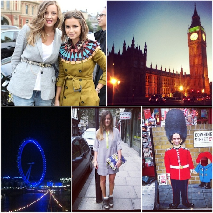 London through Instagram photos