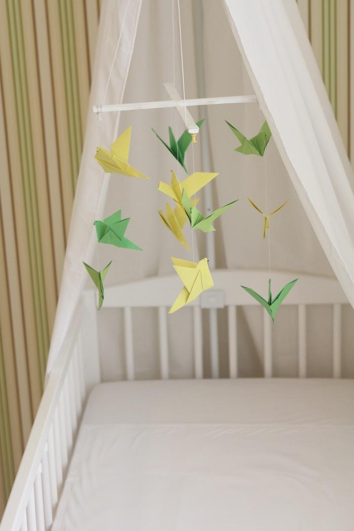 Origami birds for my nursery