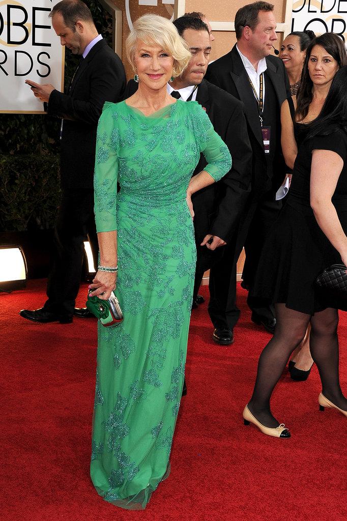 Helen-Mirren-vision-her-green-gown