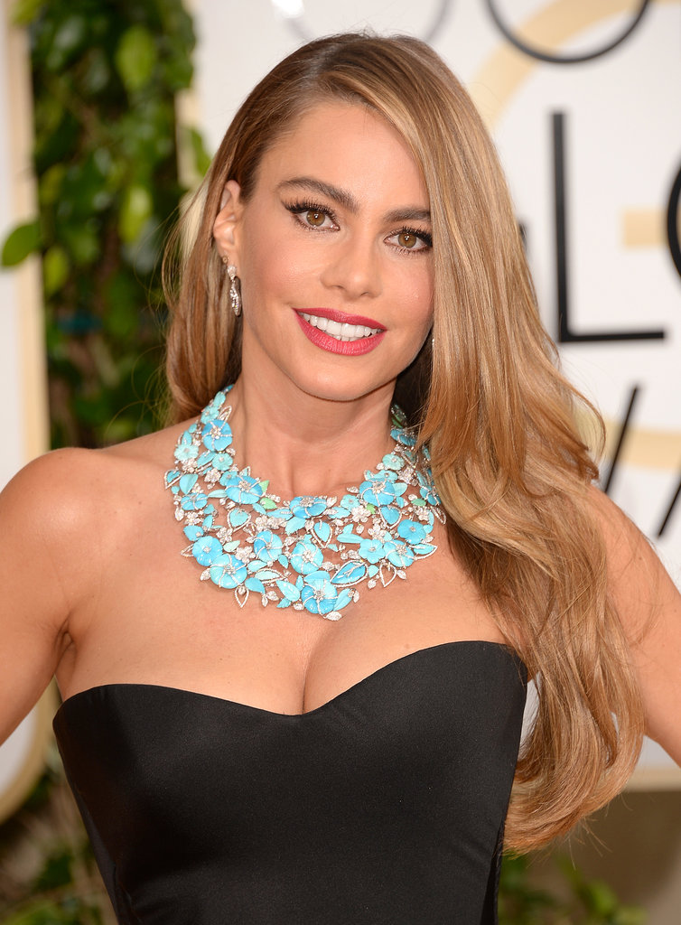 Sofia-Vergara-Golden-Globes-2014