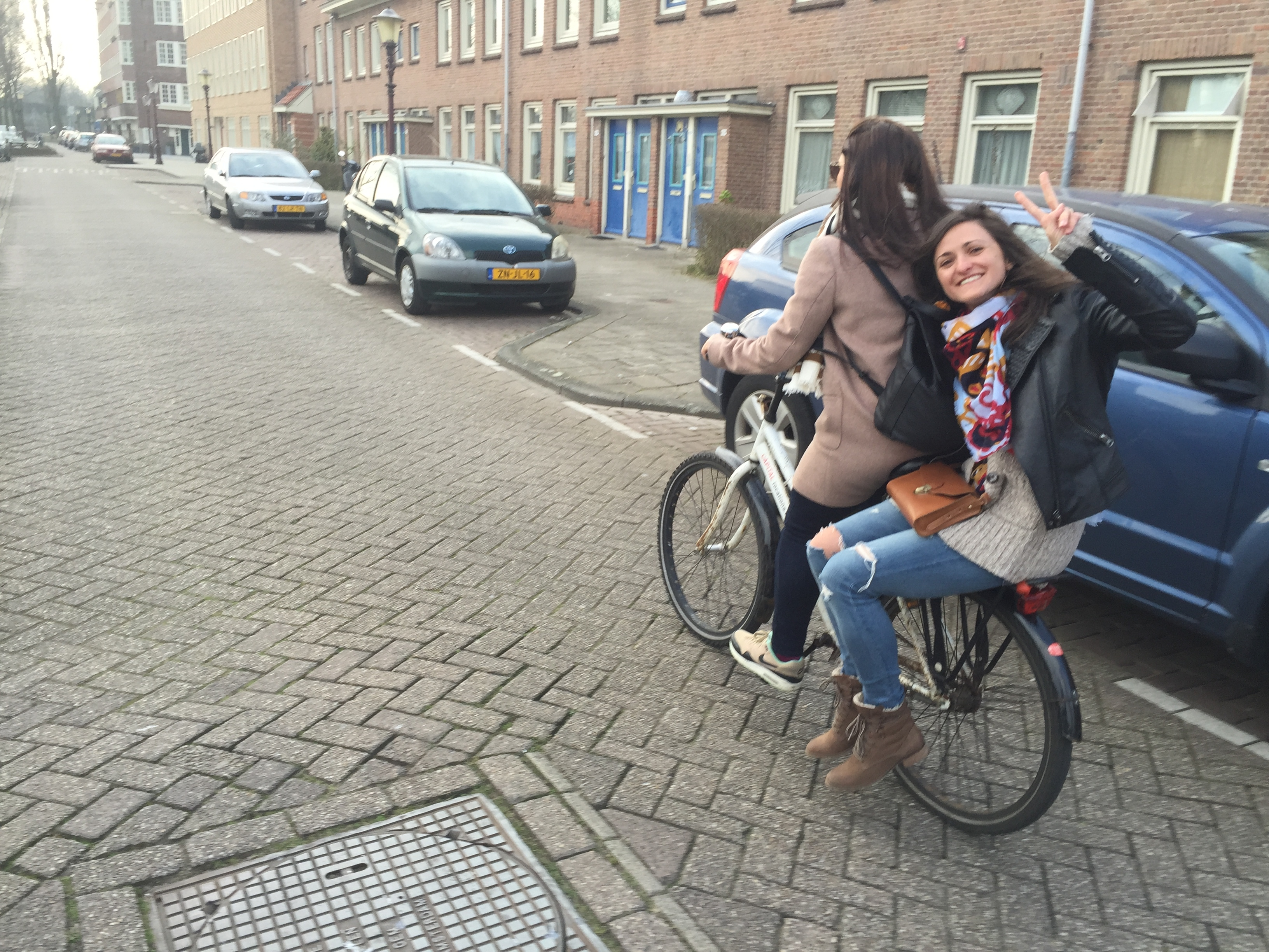 That's how we get around the city